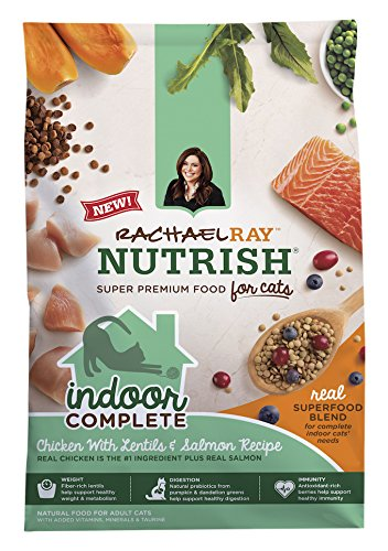 Rachael Ray S Dry Food For Cats Fiber Content