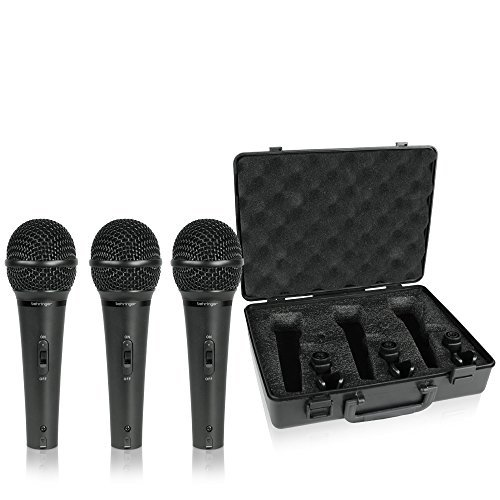 behringer ultravoice xm1800s dynamic microphone 3 pack price per set sold only in sets of 3 pcs. Black Bedroom Furniture Sets. Home Design Ideas