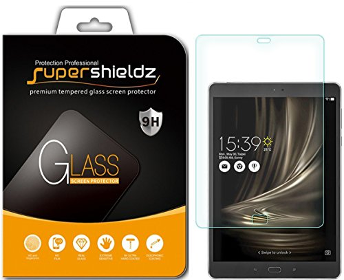 45d6325df34 ASUS ZenPad 3S 10 Z500M Tempered Glass Screen Protector, Supershieldz  Anti-Scratch, Anti-Fingerprint, Bubble Free, Lifetime Replacement Warranty