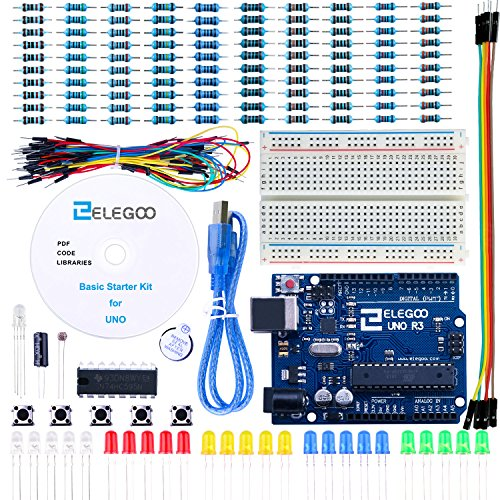Elegoo uno project basic starter kit with tutorial and