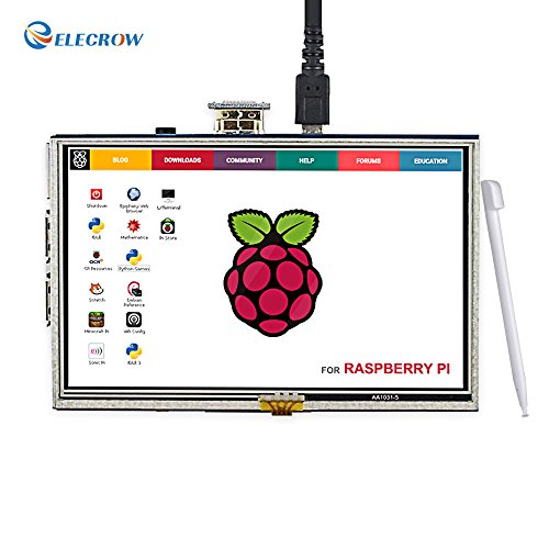 Eleclink Raspberry Pi 5 Inch 800×480 Display Resistive Touch