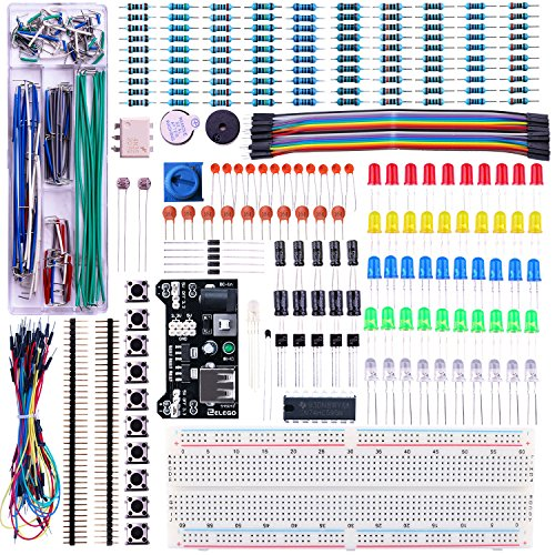 Modules Sensor Kit for Arduino and Raspberry Pi, Quimat 39-in-1