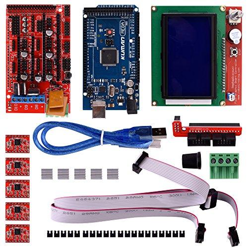 Kuman d printer controller kit for arduino mega uno