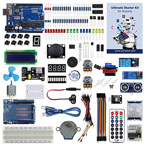 Uctronics advanced starter kit for arduino with