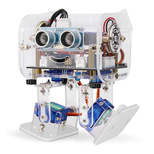 ELEGOO Arduino Project,Penguin Bot Arduino Biped Robot Kit