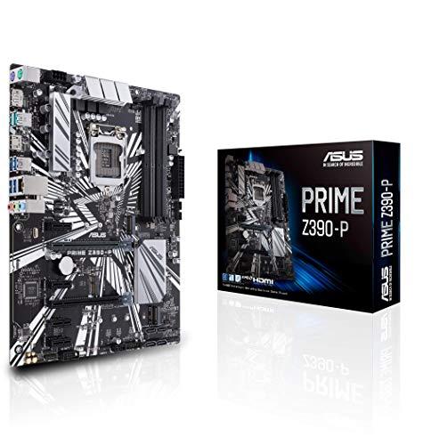 ASUS Prime Z390-P LGA1151 Intel 8th and 9th Gen DDR4 DP HDMI