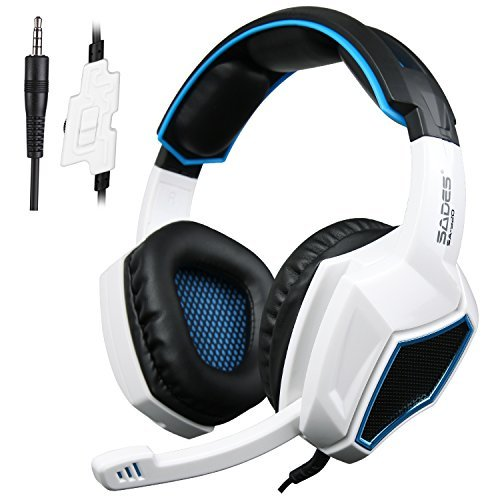SADES SA920S Stereo Gaming Headset for PC PS4 Xbox One X
