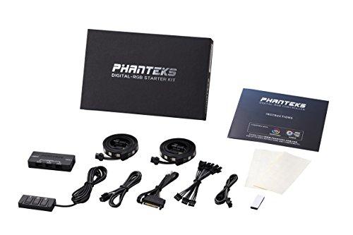 Phanteks PH-DRGB_SKT Digital RGB LED Starter Kit Includes